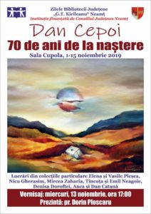 Expozitie de pictura Dan Cepoi