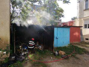 Incendiu sudura garaj