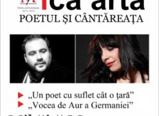 Recital de poezie și jazz susținut de Mihăiță Macoveanu și Mădălina Mantu