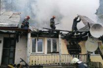 Două locuințe au fost afectate de un incendiu în comuna Pângărați
