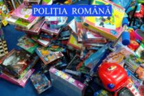 Jucării și alte articole pentru copii contrafăcute descoperite într-un magazin din Roznov