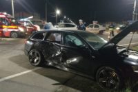 Accident cu 6 victime în intersecția de la Girov