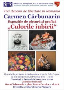 expozitie pictura Carmen Carbunariu noiembrie