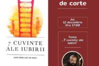 Conferință duhovnicească și lansare de carte la Piatra Neamț