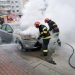 Incendiu autoturism Dimitrie Leonida Piatra Neamt (1)