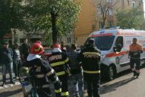 Un bărbat din Piatra Neamț și-a dat foc la apartament