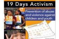 Campanie de prevenire împotriva abuzurilor asupra copiilor