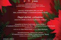 """""""După datini, colindăm!"""", concert dedicat sărbătorilor de iarnă"""