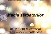 """""""Magia Sărbătorilor"""" – concert de colinde la Biblioteca Județeană"""