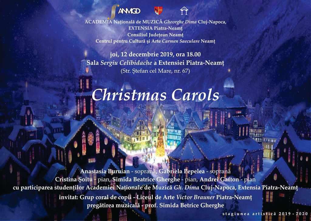 Christmas Carols concert colinde