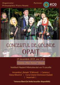Concert de colinde Opait