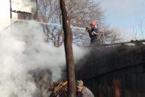 Incendiu la două anexe gospodărești în localitatea Urecheni
