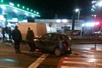 Trei autoturisme au fost avariate din cauza unui șofer băut