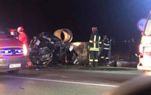 Accident rutier mortal Traian Sabaoani