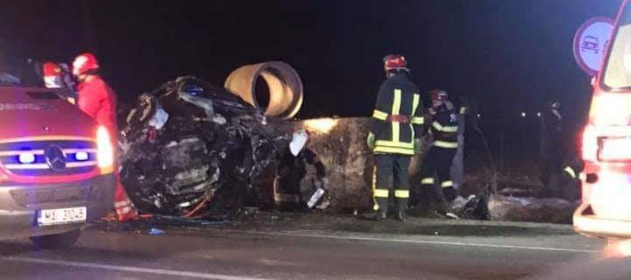 Accident rutier mortal în localitatea Traian