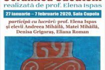 """""""Ceramica Cucuteni"""" – expoziție de desene la Biblioteca Județeană"""