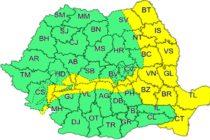 Intensificări puternice ale vântului în toată Moldova