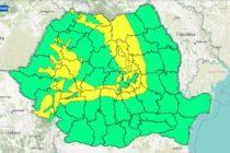 Cod galben: Ninsori și intensificări ale vântului în zonele montane