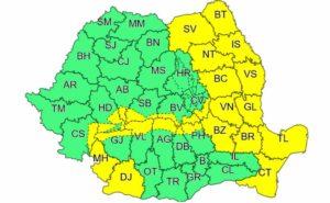 Intensificari ale vantului Moldova Neamt