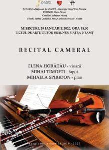 Recital cameral Piatra Neamt