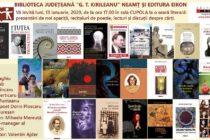 Seară literară la Biblioteca Județeană Neamț
