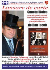 lansare carte Dan Iacob