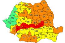 COD PORTOCALIU: atenționare meteorologică care vizează și județul Neamț