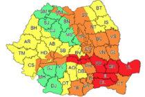 Atenționări de vreme rea în Neamț. Bilanțul incidentelor înregistrate în județ.