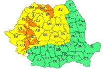 Cod galben pentru județul Neamț: vin ninsorile!