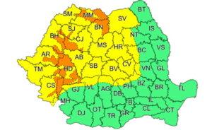 Cod galben precipitatii 4-5 februarie