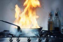 O locuință din Zănești a luat foc din cauza unui aparat de gătit nesupravegheat