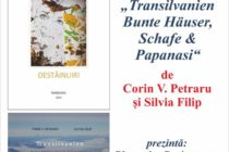Lansare de carte Corin Petraru și Silvia Filip