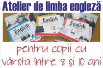 Atelier de limba engleză pentru copii, la Biblioteca Județeană Neamț