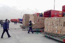 45 de tone de echipamente medicale din Coreea de Sud au sosit în România