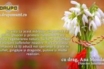 Felicitare 1 martie – DRUPO NEAMȚ