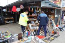 Acțiune de amploare a polițiștilor în piața agroalimentară din Tg. Neamț