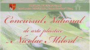 concurs national arte plastice NICOLAE MILORD