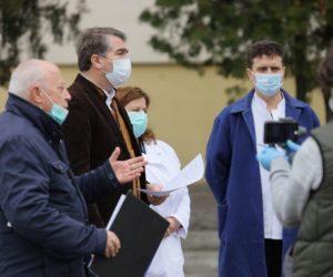 Conferință de presă desfășurată astăzi, 28 martie, la Spitalul Județean Neamț (video)