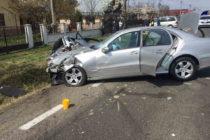 Accident rutier între două autoturisme în localitatea Costișa