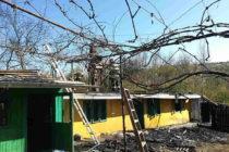 Incendiu la o locuință din Ruginoasa provocat de un coș de fum neprotejat termic
