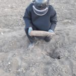 Proiectile neexplodate gradina Sagna (2)
