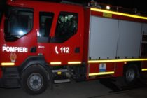 Incendiu la o anexă gospodărească provocat de un coș de fum