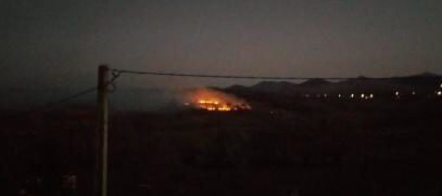 Incendiu de vegetație pe o suprafață de 2 hectare la Agapia