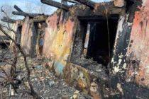 Un bărbat a rămas fără locuință în urma unui incendiu