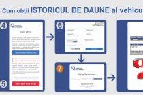 Aplicație prin care poate fi verificat istoricul de daune al autoturismelor în România