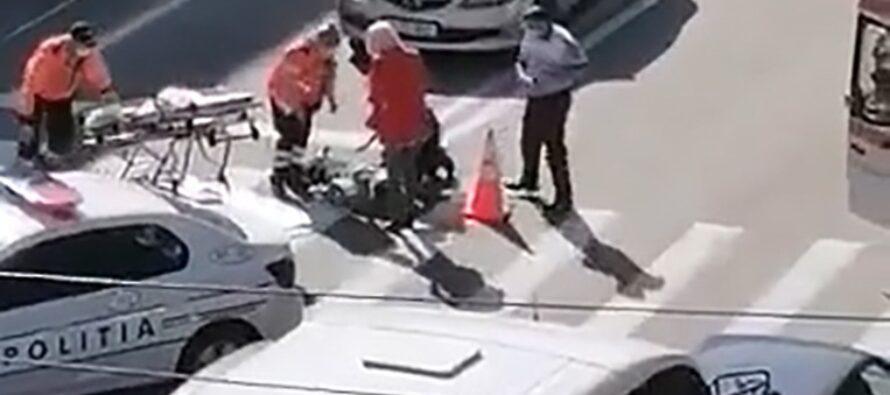 Accident grav cu o victimă pe trecerea de pietoni de la Policlinica din Piatra Neamț