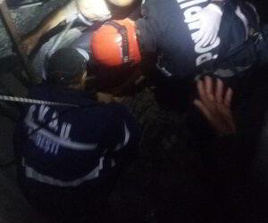 Bătrân din Bodești căzut într-o fântână, salvat de pompieri
