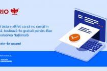 Inițiativă națională de testare GRATUITĂ a elevilor care se pregătesc pentru Bac și Evaluarea Națională