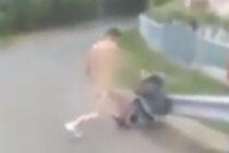 Minor abuzat la Roznov în plină stradă