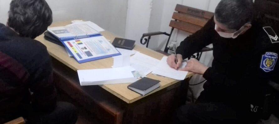 Bărbat din Săvinești cerea bani în numele unei asociații umanitare